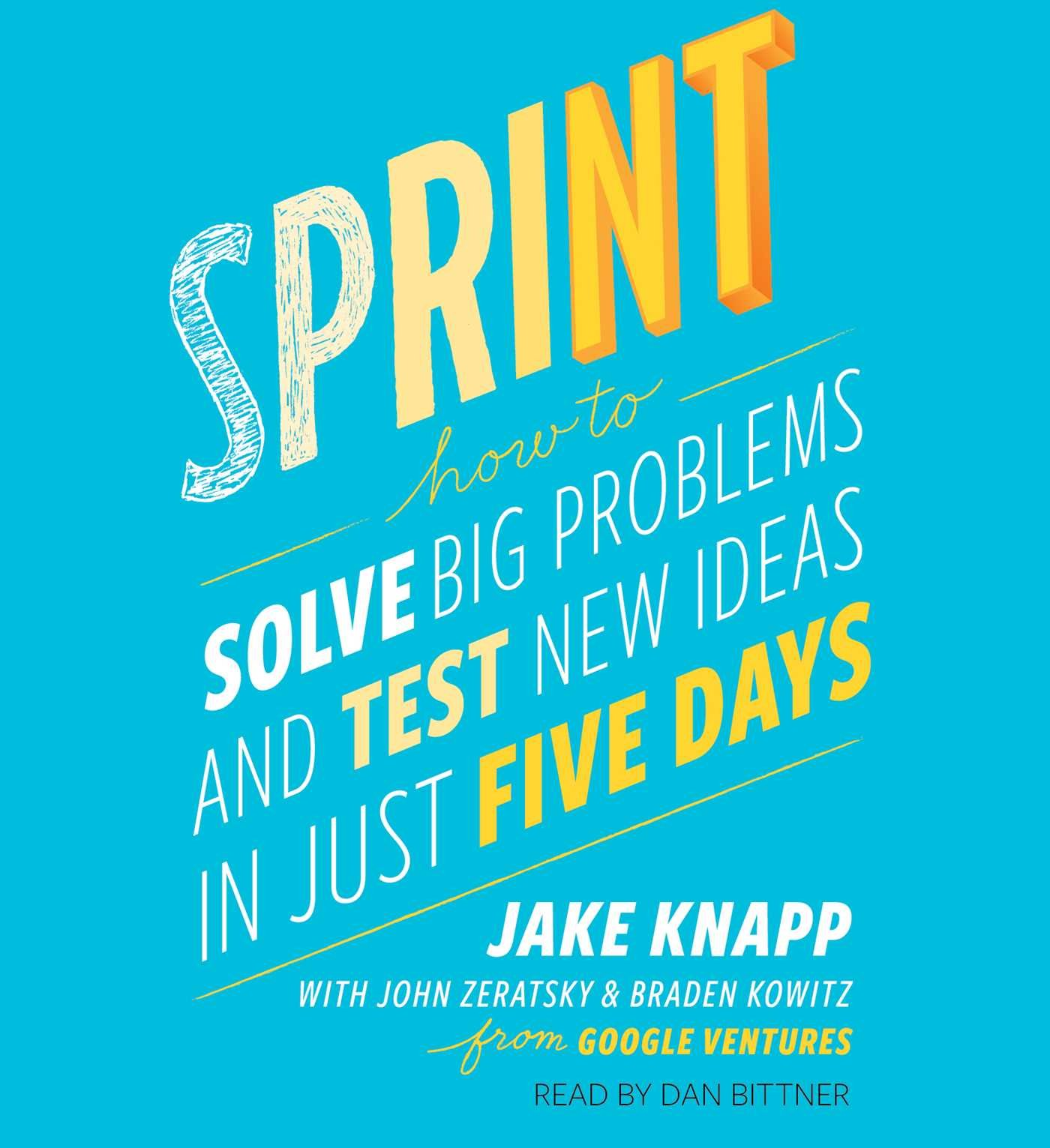 Sprint book cover